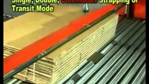 Стреппинг машина для гофрокоробов TP-701CC