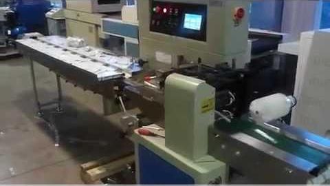 Упаковка товара цилиндрической формы на HDL 250X