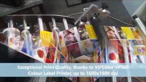Машина для печати цветных ярлыков и этикеток