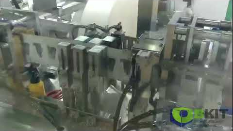 Автоматический станок для упаковки влажных салфеток VPD 350 1