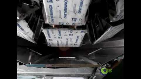 Фасовка порошка на мультиголовочном дозаторе по 2 кг