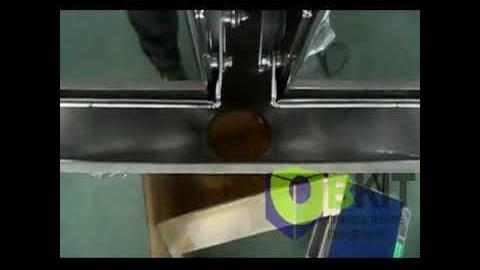 Фасовка макарон линейным весовым дозатором
