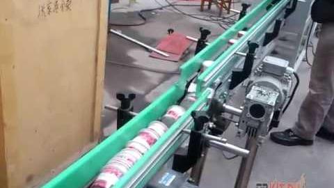 Автоматическая этикетировочная линия для стаканов, чашек, бутылок