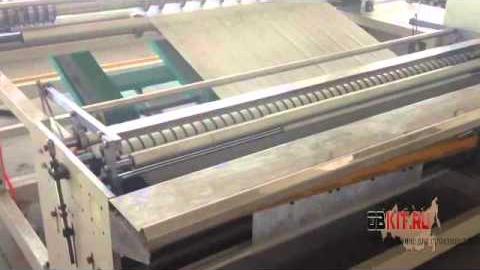 Полуавтоматическая машина для производства влажных салфеток