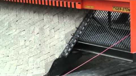 Установка для укладки тротуарной плитки