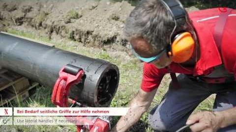 Дисковая пила для нарезки пластиковых труб Roweld ROCUT UKS 160/355