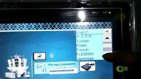 Мультиголовочный дозатор, программа работы на 20 разных языках