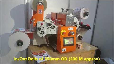 Принтер для печати цветных этикеток