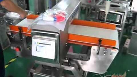 Контроль сыпучей продукции на металлодетекторе