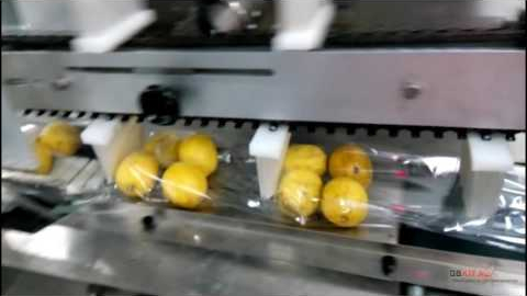 Упаковка лимонов, фруктов