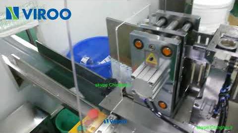 Автомат для упаковки влажных салфеток в 4-шовные пакеты VPD 250