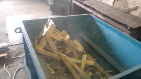 ИДО-1 – установка для измельчения отходов из древесины