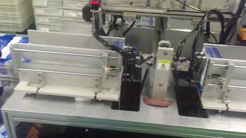 Полуавтоматическая линия складывания и упаковки косметических масок VPD 300