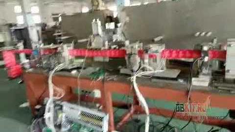 Автоматическое высокоскоростное производство влажных салфеток.