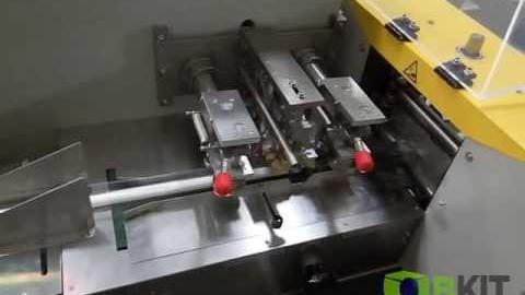 Упаковка продуктов разной длины на горизонтальной упаковочной машине OB 350X Servo