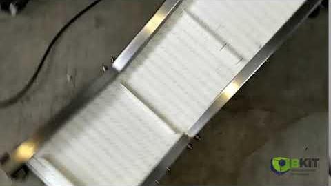 Отводящий конвейер для производства