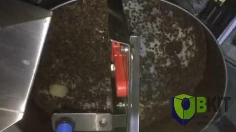 Пример работы объемного дозатора на не молотом черном перце