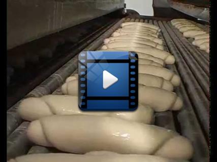 Автоматизированная линия для производства рогаликов