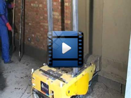 Уникальный автоматический робот штукатур