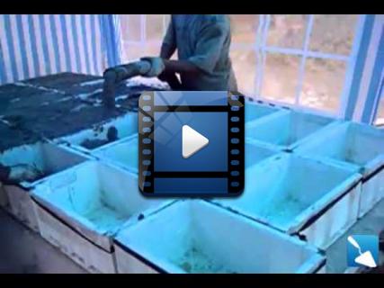 Пластиковые формы для изготовления блоков из пенобетона