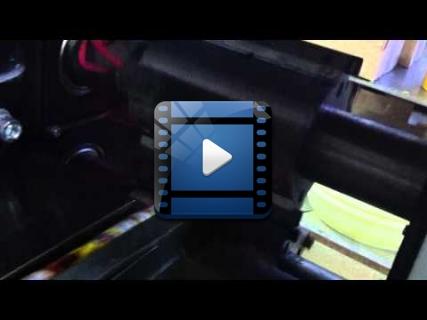 Упаковка конфет типа Коровка на  горизонтальной упаковочной машине ALD